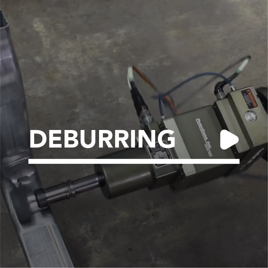 Robotic Deburring by PushCorp