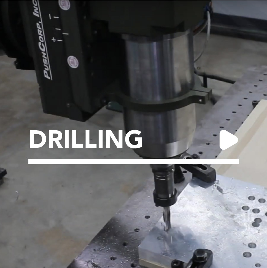 robotic drilling by PushCorp