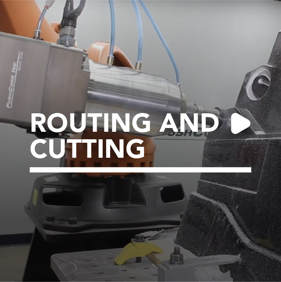 Robotic Routing and Cutting by PushCorp