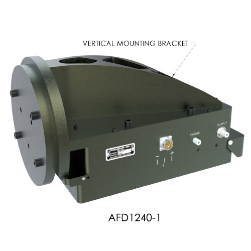 Vertical mount of AFD1240 Active Compliance series end-effector