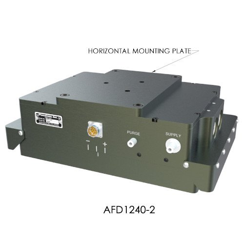 horizontal mount of AFD1240 Active Compliance series end-effector