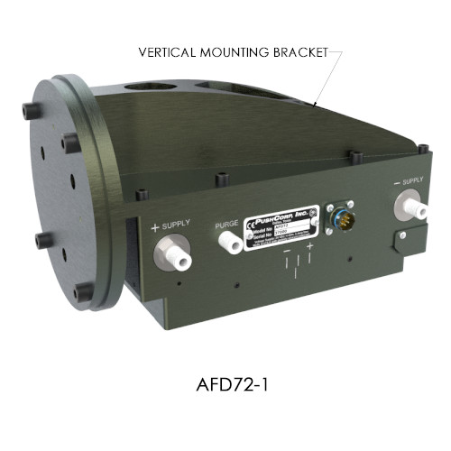 Vertical Mount AFD72 Robotic End Effector PushCorp