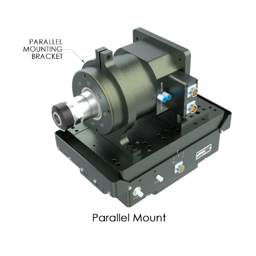 PushCorp SM0612 high Torque Servo Spindle Parallel Mount