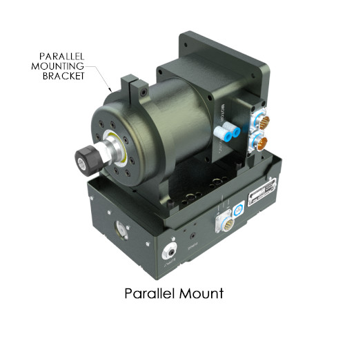 Parallel Mount SM1503 High Speed Servo Spindle
