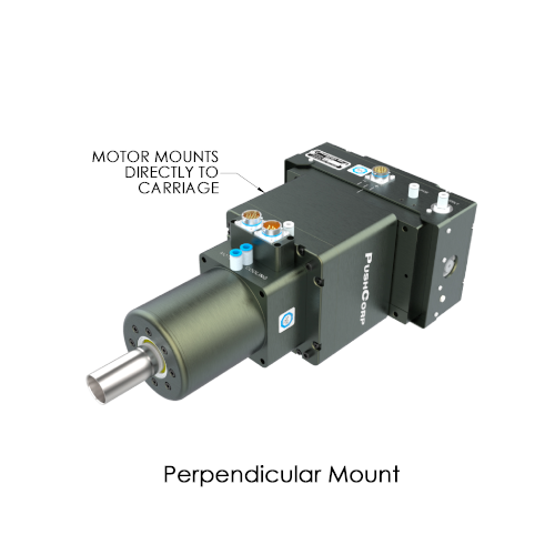 Perpendicular mount for STC1503-BT30 automated tooling by PushCorp