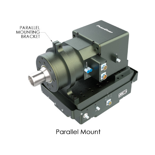 Parallel mounted STC0612-BT40 High Torque Robotic Servo Spindle
