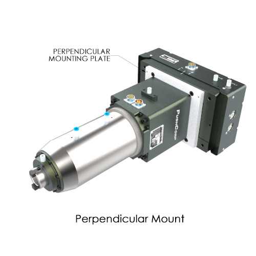 Perpendicular Mounted STC1015 High Torque Robotic Servo Spindle