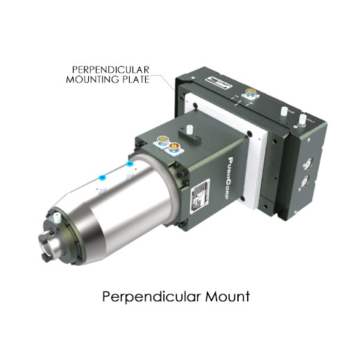 STEC1515 Perpendicular Mounted PushCorp Robotic Servo Spindle