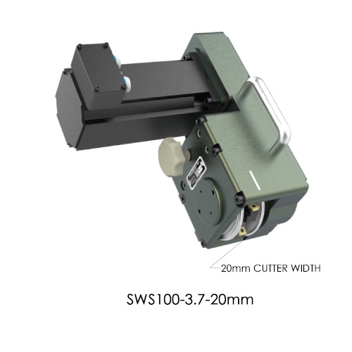 SWS100-3.7-20mm Servo Weld Shaver by PushCorp with 20mm Cutter Width