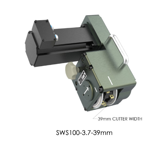 SWS100-3.7-39mm Servo Weld Shaver by PushCorp with 39mm Cutter Width