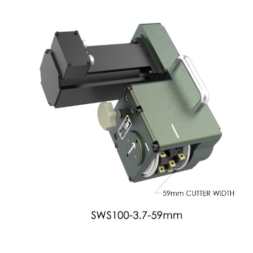 SWS100-3.7-59mm Servo Weld Shaver by PushCorp with 59mm Cutter Width