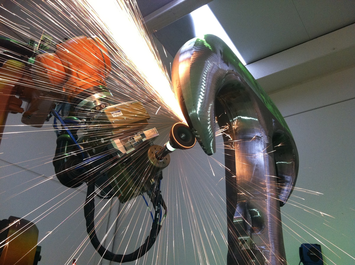 PushCorp has provided robotic surface finishing end effectors to the automotive and aerospace
